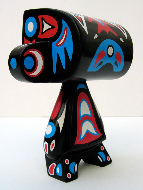 Dancing Salmon Totem - Ryan Crippen